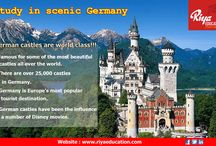 Interesting Germany / If you want to study abroad, Germany is a best options. For details get in touch with Riya Education.