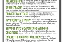 Why We Love Fair Trade / Fair trade empowers people all across the globe with fair wages, excellent working conditions and sustainability! / by Women's Peace Collection