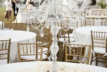 Weddings / Flowers and centers