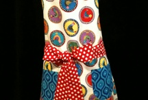 My creations / This an example of the aprons I have been selling at work.   / by Crystal Wilcox