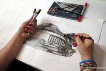 Drawing By Gül ipek / #drawing#Derwent#Copicmarker