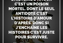 Lyrics, paroles, quotes