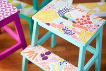 Расписные стульчики