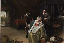 Steen, Jan (1626-79, Dutch painter)