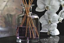 Hmmm... geurdiffusers etc. / Très Jolique voert o.a. Castelbel, een Portugees merk dat authentieke zepen en geurlijnen voor in huis maakt met enkel natuurlijke ingrediënten.