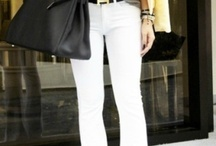 White Pants and Jeans.....Year Round