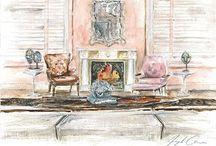 Sotheby's Designer Showhouse 2015 / 2015 Sotheby's Designer Shophouse: April 13th 2015 - #SothebysShowhouse #ECD #InteriorDesign #NYC