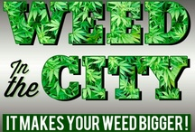 Marijuana artwork / by Weed in the City