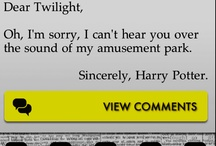 Things that make me laugh (: