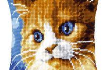 polštář - kočka