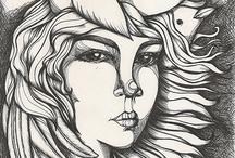 Ilustración / Mis trabajos como dibujante errante.