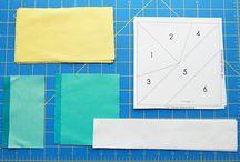 Quilt - paper piecing tutorial