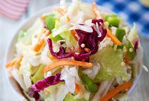 salads, quick meals