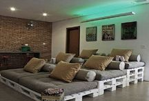 Cinema Room Inspiration / Home theatre and home cinema design projects