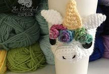 Crochet | Coffee Cozies / crochet coffee cozies cozie cosy cosys cozy cozys pattern patterns