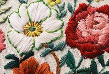 Tejido, bordado y costura