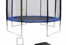 Les trampolines 430 cm Happy Garden