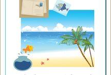 Le fabuleux voyage de l'eau salée / Lapbook sur l'eau salée de l'Association Carpe Diem
