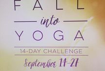 Fall into Yoga Challenge / by YogaWorks