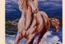 çarpı işi - ( atlar )