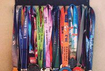 Medal, Ribbon & Race Bib Display / by Jen Campbell