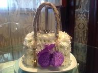 flower bag / bag of fresh flowers