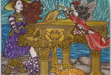Adult colouring - Misseke's work
