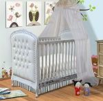 Cribs / Baby beds color white marked within convertible baby cribs theme and thus white baby crib area of interest as well as transition from crib to toddler bed concept together with round baby crib and write under Cribs Ideas category.