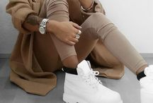 beige Timberland Outfits