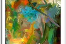 Abstract Paintings / by EisnerArt