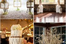 Wedding decor ideas from various Pinners