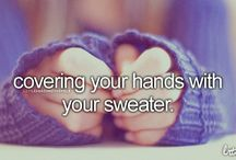 Just girly things / Things that represent me