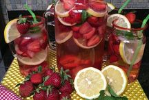 Benefits of drinking water and recipes