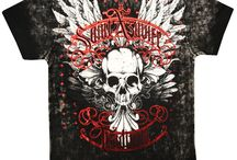 "Xzavier Da Grind T-Shirts / Decorate yourself with this war-torn Xzavier style. Xzavier Da Grind Clothing comes at you packin' heat with hardcore designs inspired by the Gothic Renaissance, Middle Age Warfare and chivalry to every man. The Xzavier Motto: ""Know thy enemy. Respect thy Enemy. DESTROY THY ENEMY."" Whether you are an MMA Master or a soldier in the war of life you will find Xzavier clothing embraces you to conquer ""da grind"" of society & assist you in your rebellion of the mundane."