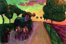 Painting. Gabriele Munter