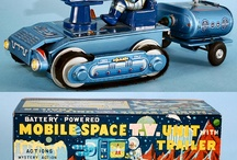 TV Space Bus Tank Unit Station Car