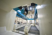 CNC Machining Centers / HACO Mubea Systems manufactures a complete range of 5-axis CNC machining centres, specially designed for automatic tooling of exceptionally long aluminium and steel profiles – such as for trains.  / by The Haco Group