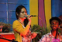 Estréia da minha filha Bruna no dia,  ela cantou com os três integrantes da Banda Dona Zaíra de Piracicaba,  que participam do Super Star na Rede Globo.