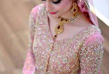 Пакистанские свадебные платья