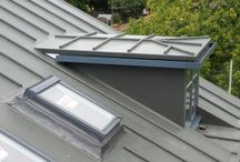 Simulated Metal Finishes / Polyroof manufacture pre-formed GRP lead roll and standing seam trims that can be incorporated into our waterproofing membranes to simulate the look of lead, copper and zin roofs.