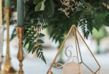 Modern Greenery Styled Shoot