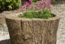 Ogród ozdoby diy, rękodzieło, stare jak nowe