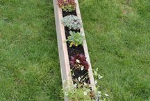 Pallet herb garden / Ideas for pallet herb gardens.