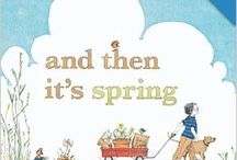 book nook: And Then It's Spring / for Little Wonders Preschool a lit and play based program  Seasons, Weather, Garden