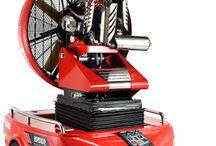 Velkoobjemový ventilátor Easy 4000 od společnosti Leader