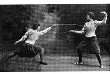 Vintage female sports