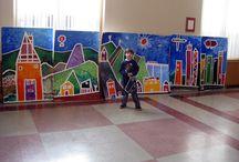 Year 2 mural
