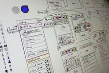 Wireframes / Images of Wireframes and Process / by Bobby Anderson