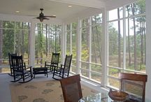 screened in porch Doral house