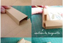фоторамка из картона